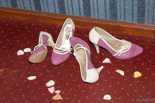 koszorúslány cipők
