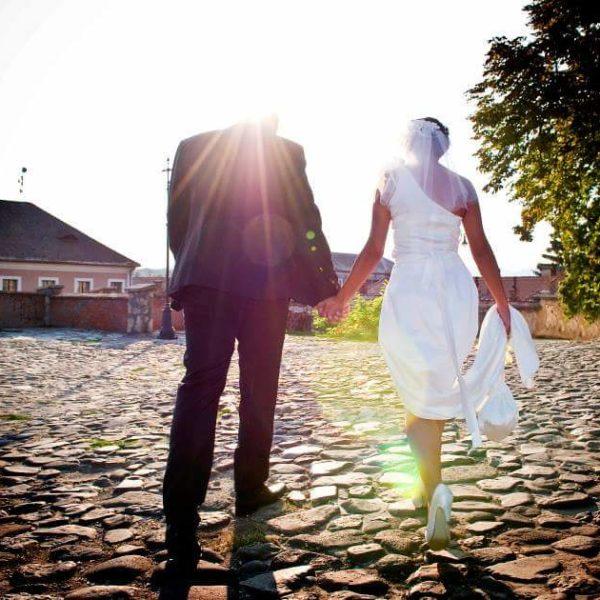 menyasszony és vőlegény